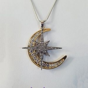 Jewelry - Twitches Amulet/Twitches Necklace/Moon & Sun